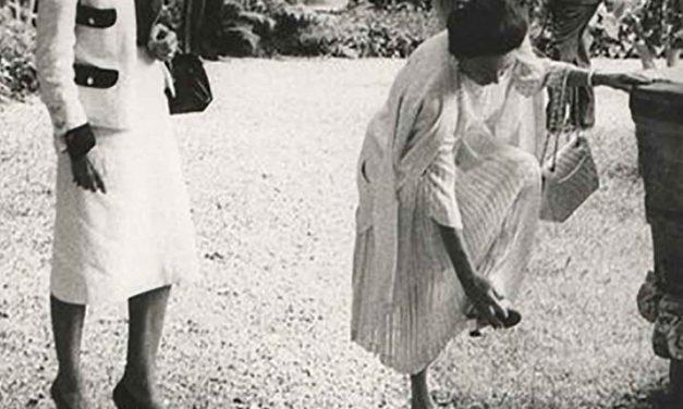 La sorella della regina e… un sassolino nella scarpa