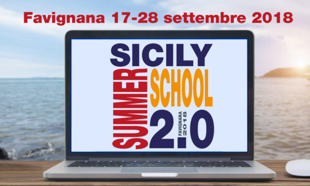 Pidieffe partecipa e sostiene la Sicily Summer School 2.0