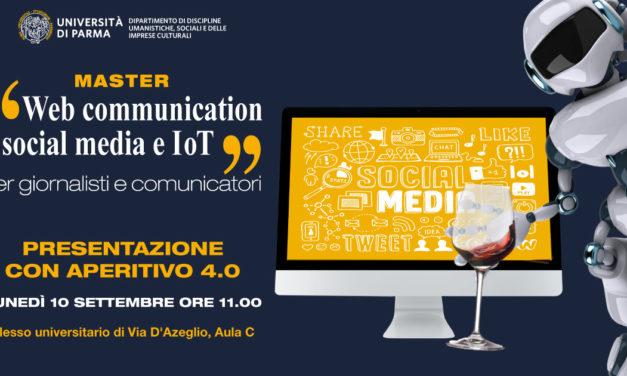 Pidieffe partecipa e sostiene il Master in Web communication, social media e IoT