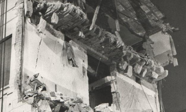 Lo scoppio del padiglione Cattani