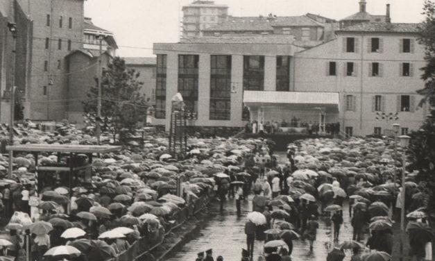 La visita di  Papa Wojtyla a Parma