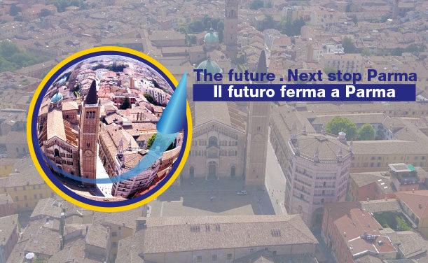 Il futuro ferma a Parma.  Dal 20 maggio al 25 giugno