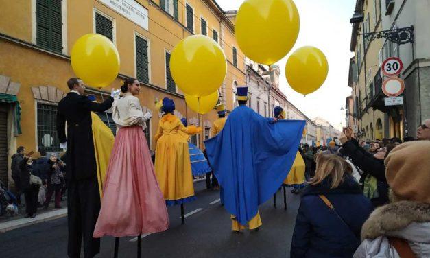 Parma 2020. <br>È cominciato come Carnevale