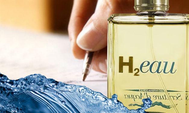 Esercizi di scrittura veloce <br>Acqua di colonia H<sub>2</sub>Eau