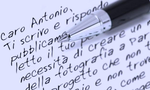 Caro Antonio… Parma è senza più memoria e identità